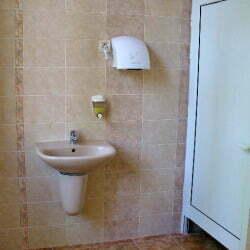Тоалетна в МБАЛ Троян