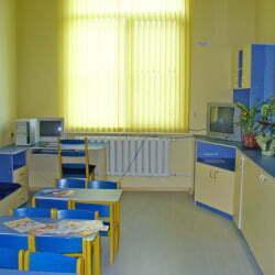 Интериор от болницата в Троян